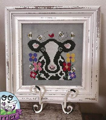 Bessie In The Blooms-Blackberry Rabbit