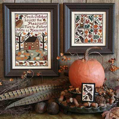 October (Reprint)-Prairie Schooler-