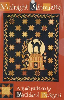 Midnight Silhouette Quilt Pattern-Blackbird Designs-