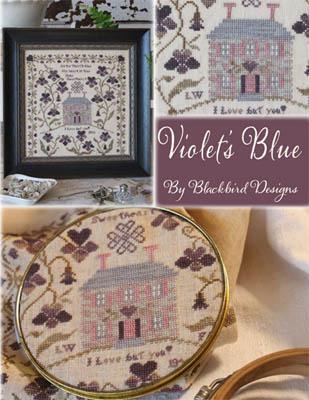 Violet's Blue-Blackbird Designs-