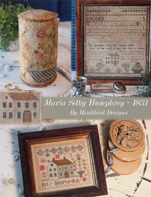 Maria Selby Humphrey 1831-Blackbird Designs-