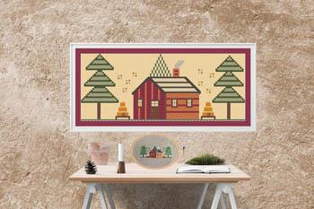 Oregon House-Susanamm Cross Stitch-