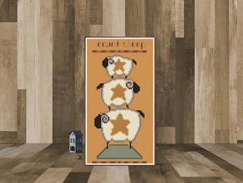 Count Sheep-Susanamm Cross Stitch-