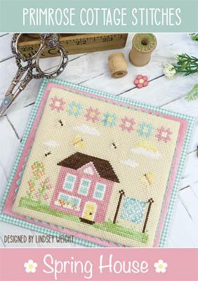 Spring House-Primrose Cottage Stitches-