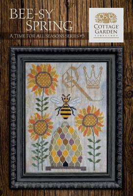 Time For All Seasons #5-Beesy Spring-Cottage Garden Samplings-