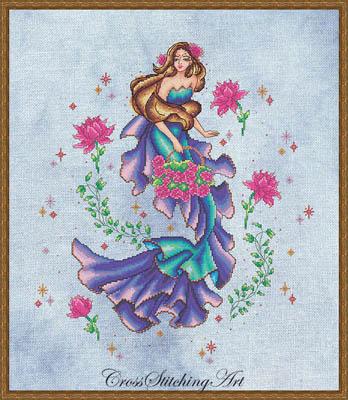 Beatrice-Cross Stitching Art-