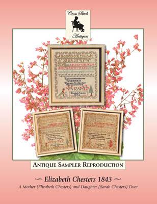 Elizabeth Chesters 1843-Cross Stitch Antiques-