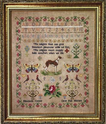 Elizabeth Cooper 1866-Fox And Rabbit Designs-