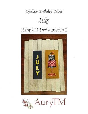 Quaker Birthday Cakes-Happy Birthday America-AuryTM-