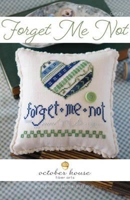 Forget Me Not-October House Fiber Arts-