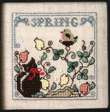 Itty Bitty Kitty & The Baby Robin-Sweetheart Tree-