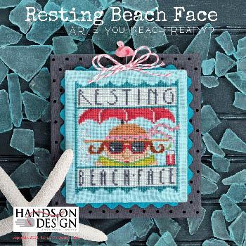 Resting Beach Face-Hands On Design-