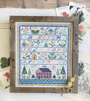My Home In The Garden-Hello From Liz Mathews-