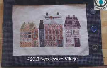 Needlework Village-Thistles-
