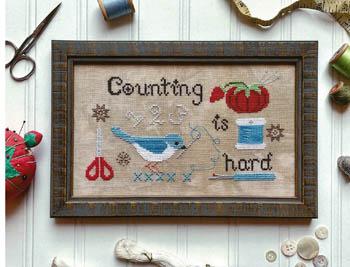 Counting Is Hard-Luminous Fiber Arts-