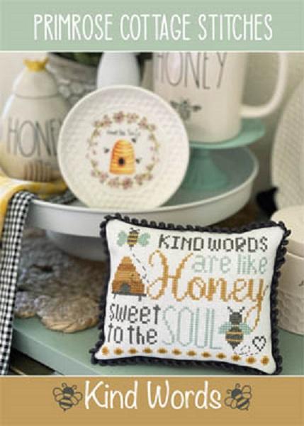 Kind Words-Primrose Cottage Stitches-
