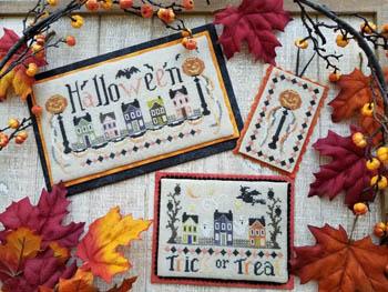 Halloween Street-Waxing Moon Designs-