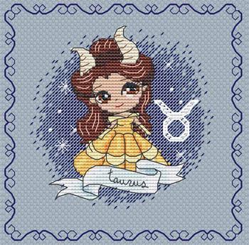 Zodiacal Princess 6-Taurus-Les Petites Croix De Lucie-