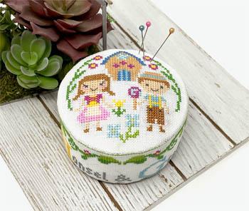 Fairy Tale Pincushions-Hansel & Gretel-Tiny Modernist-