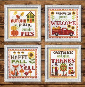 Vintage Autumn Signs-Tiny Modernist-