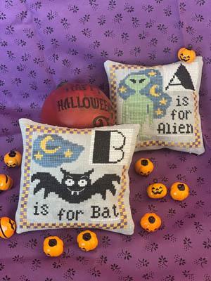 Halloween Alphabet-A & B-Romy's Creations-
