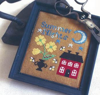 Summer Nights-Bendy Stitchy Designs-