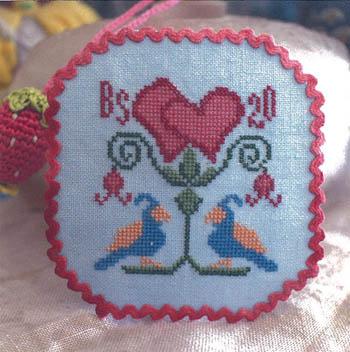Love Birds-Bendy Stitchy Designs-