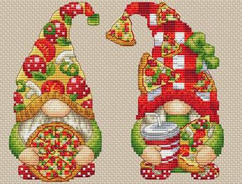 Gnome Pizza-Les Petites Croix De Lucie-