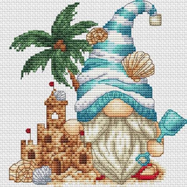 Gnome To The Beach-Les Petites Croix De Lucie-