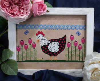 Spring Chicken-Vintage Needlearts-