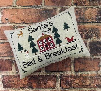 Santa's Bed & Breakfast-Needle Bling Designs-