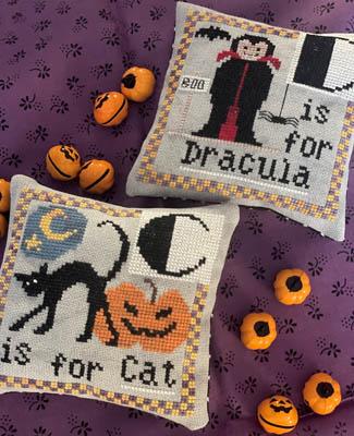 Halloween Alphabet-C & D-Romy's Creations-