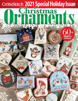Christmas Ornaments 2021-Just Cross Stitch-