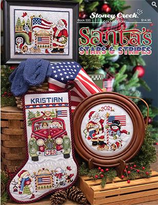 Santa's Stars & Stripes-Stoney Creek Collection-