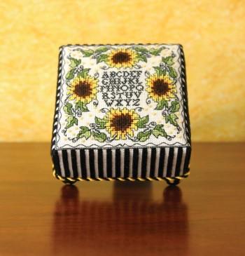 Sunflower Footed Cushion-Sweetheart Tree-