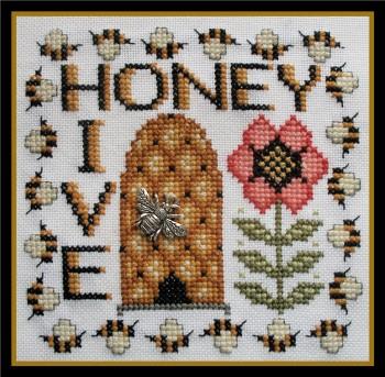 Honey Hive With Charm-Hinzeit-