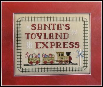 Santa's Toyland Express-Kays Frames & Designs-