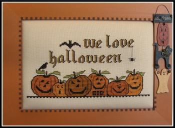 We Love Halloween-Kays Frames & Designs-