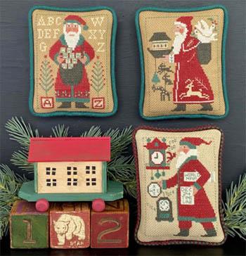 Santas Revisited 1997, 1998, 2013-Prairie Schooler-
