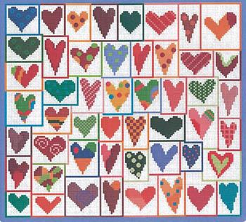 More Hearts-Susanamm Cross Stitch-
