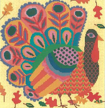 Happy Turkey-Susanamm Cross Stitch-