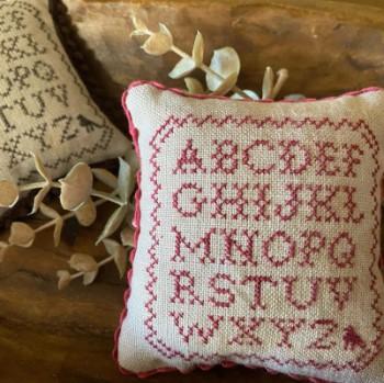 Mini Alphabet Sampler-Frog Cottage Designs-