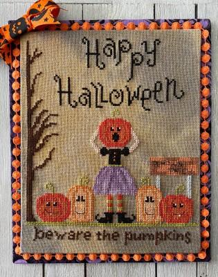 Beware The Pumpkins-Frog Cottage Designs-