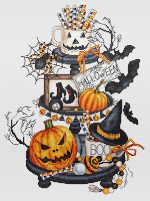 Halloween Platter-Les Petites Croix De Lucie-