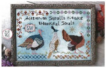 Autumn Strolls-Lindy Stitches-