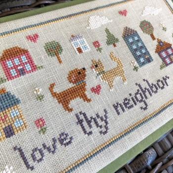 Love Thy Neighbor-Sweet Wing Studio-