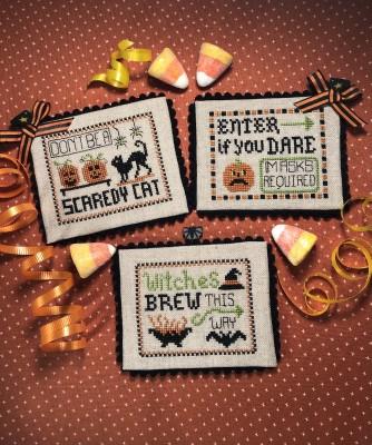 Halloween Party Signs-Scissortail Designs-