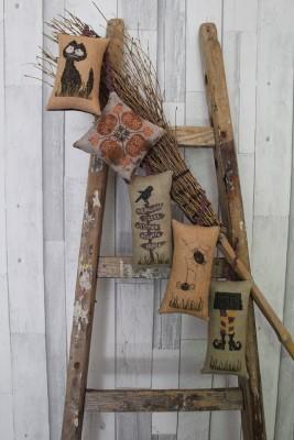 Broom Keeps-Thistles-
